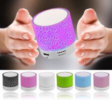 LED Mini Altavoces Bluetooth manos libres portátil inalámbrico con micrófono Tarjeta Tf Usb