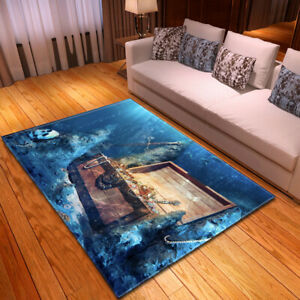 Pirate Series Small Large Long Floor Carpet Area Rugs Various Size Soft Rug