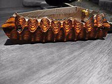 Hand Made Damascus folding knife LAGUIOLE Style in Orange Wood Pocket Knife