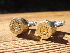 Winchester .30-06 Caliber Cufflinks -- Ammo Ammunition Brass Bullet Springfield