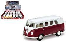 KINSMART 1:32 DISPLAY 1962 VOLKSWAGEN BUS DIECAST CAR MODEL KT5060D