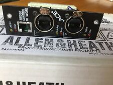 SALE! ALLEN & HEATH Option Module ACE M-ACE  made in England New in the box