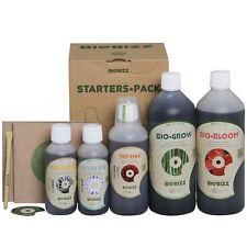 Biobizz Starter Pack Kit Fertilizzanti Organici Completo - Concime Liquido