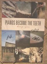 """Pianos Become the Teeth""""Keep You""""Signed Poster Autograph Touche Amore La Dispute"""