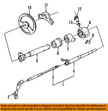 GM OEM Steering Column-Lock Mechanism 7812526
