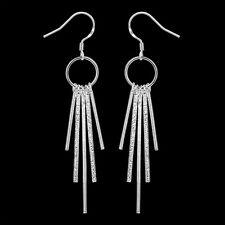 Ladies Earring Ear Hangers Studs Hoop pl. with Sterling silver DO026