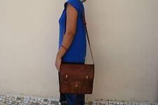 Leather CrossBody Messenger Bag Handbag Satchel Tab/iPad Shoulder Eco-Friendly