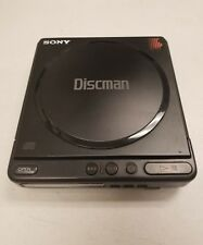 Vintage 1988 Sony Discman D-4 CD Compact Disc Player