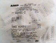(20) AMP Netconnect 558401-2 Connector Block 4PR