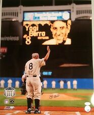 Yogi Berra New York Yankees Waves Goodbye Autographed 16x20 w/ JSA COA