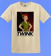 Twink Peter T-shirt Pan Classics Gay Film Tee Bottom Queen LGBT Pride Dom Top