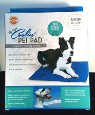 "K & H Pet Products Coolini Pet Pad/ Superior Cooling Power Sz 20"" x 36"" NIB"
