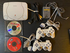 Sony Playstation 1 Psone system Scph-101 complete w/ Monopoly game