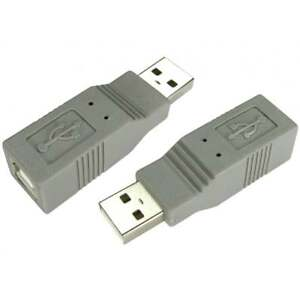 USB 2.0 Type A Male to Type B Female Adaptor Adapter