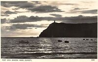 POSTCARD   ISLE  OF  MAN   PORT  ERIN  Bradda  Head