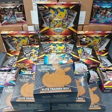 More details for pokemon shining fates full range boosters tin v boxes pins new in stock now