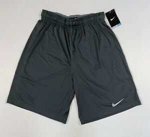 NIKE Mens Team Fly Shorts | Gray Anthracite | Various Sizes | 361056 060 | NWT