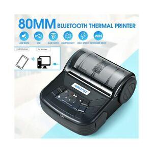 Printer Thermal 80MM Bluetooth USB Case Paper Spike Receipt GOOJPRT MTP-3