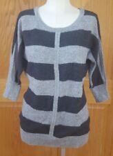 Ann Taylor Loft Women's Grey Wool Blend Sweater Size Small