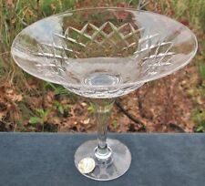 BEAUTIFUL VINTAGE WEBB & CORBETT ENGLISH CRYSTAL COMPORT