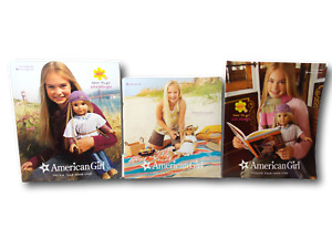 American Girl Catalog-Lot of 3 Featuring American Girl's Julie on Cover 2007-08