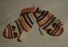 Gymboree Mountain Cabin Toddler Girls 2T-5T Winter Mittens NWT