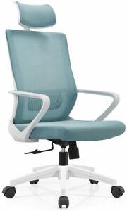 Ergonomic Chair Executive Computer Desk Adjustable Swivel High Back Mesh Office
