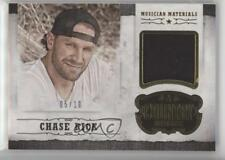 2014 Panini Country Music Musician Materials Gold Prime #M-CR Chase Rice /10 d2m