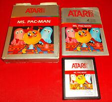 Ms. PAC-MAN Atari Vcs 2600 Versione Europea ○ COMPLETO - AK