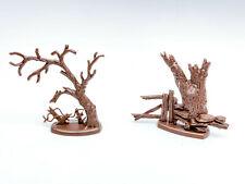 2x Britains Wild West Scenery trees