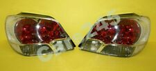 Rear Tail Signal Light Lamps Clear Pair For Mitsubishi OUTLANDER 2003-2006