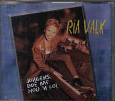 Ria Valk-Jongens Doe Me Nou N Lol cd maxi single