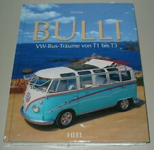 Bildband VW Bulli Bus T1 T2 T3 Caravelle Carat Multivan Träume Heel Buch Neu!