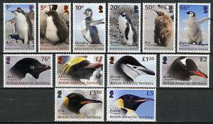 BAT Brit Antarctic Territory Birds Stamps 2018 MNH Penguins Definitives 12v Set