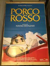 PORCO ROSSO Manifesto Film 2F Poster Originale GHIBLI MIYAZAKI Japan Anime