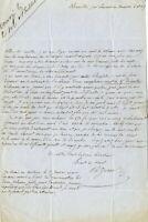 🌓 Charles ZEVORT | Lettre autographe signée à Gervais Charpentier | Thucydide