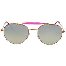 Ray-Ban Round Silver Gradient Flash Sunglasses