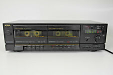 Aiwa AD-WX505 Vintage 1980s Double Cassette Player Recorder. Stereo Separate.