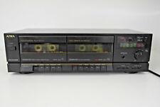 AIWA AD-WX505 VINTAGE 1980s doppio lettore di cassette registratore. stereo separate.
