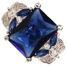 3 color Natural Tanzanite Ring Jewelry Finger Ring Bag Filler for Lady Size 6-10