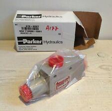 Parker Hydraulische Shuttle Ventil 419-6D27 (ms28767-6) 3000 Psi Neu Kasten Echt