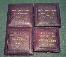 Blackpool Arnold Villa école Mérite médailles années 1870 F.W. Hamer lecture géographie