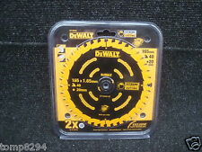 DEWALT DT10640 165MM X 20MM BORE 40TOOTH TCT CIRCULAR SAW BLADE
