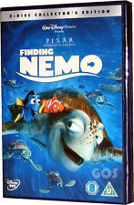 Finding Nemo Collectors Edition 2 Disc Walt Disney Pixar Film DVD New Sealed
