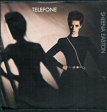 45 TOURS 7' SINGLE--SHEENA EASTON--TELEFONE / WISH YOU WERE HERE TONIGHT--1983