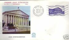 1688+ FDC ENVELOPPE 1er JOUR FLAMME  CONFERENCE INTERP