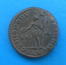 Maximien Hercule Maximianus grand follis GENIO POPVLI ROMANI Alexandria