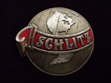 >orig. early 1970's Schlitz Brewing Company *World Globe* Vintage Beer Sign