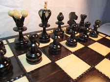 échec SUBLIME Jeu d'échecs Perle 34x34 cm bois