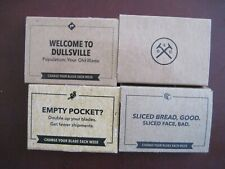 Lot of 4 Dollar Shave Club HUMBLE TWIN Replace Razor 2 Blades /5 pk =20  DS18